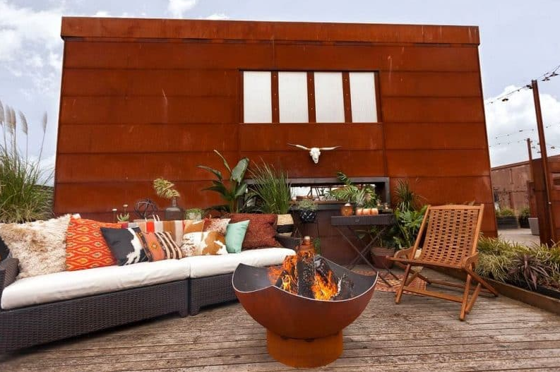 Corten Steel Beauty - sundeck designs