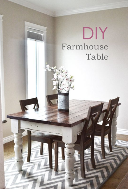 Farmhouse Table Plans 1