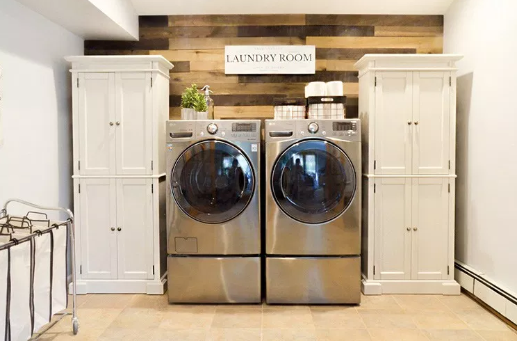 Designs for Weathered Laundry areas