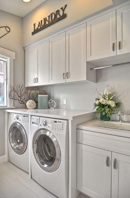 Elegant Laundry Room Design