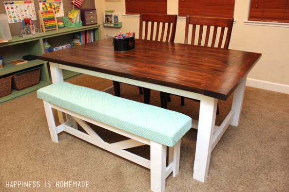 Farmhouse Table Plans 4