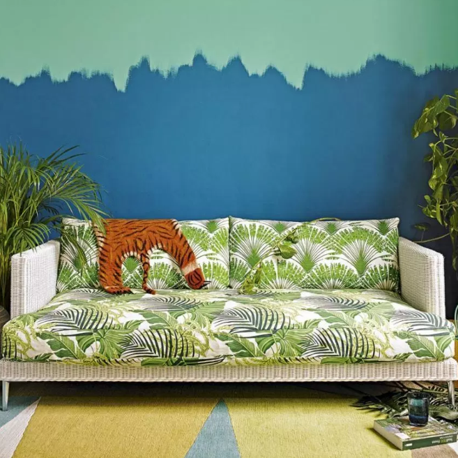 Jungle - living rooms color ideas