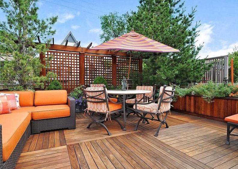 Lattice Privacy Wall - sundeck designs