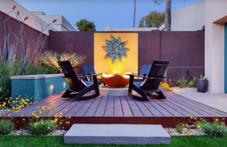 Manta Ray Fire Pit - Sundeck Designs