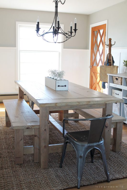 Farmhouse Table Plans 9