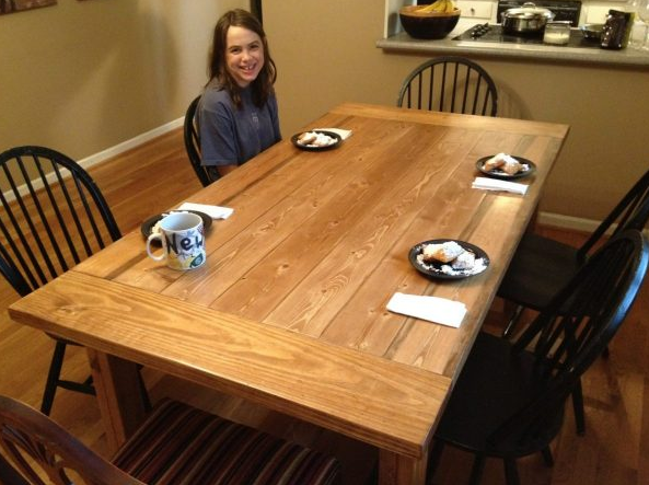 Farmhouse Table Plans 6