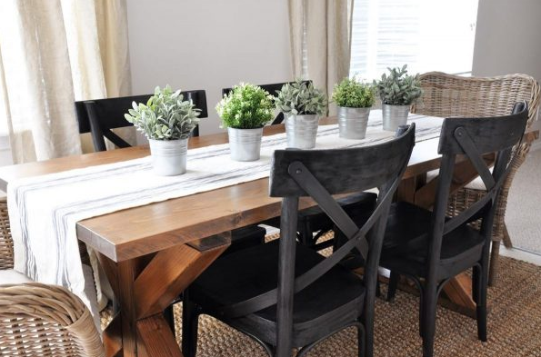 Farmhouse Table Plans 5