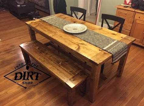 Farmhouse Table Plans 13