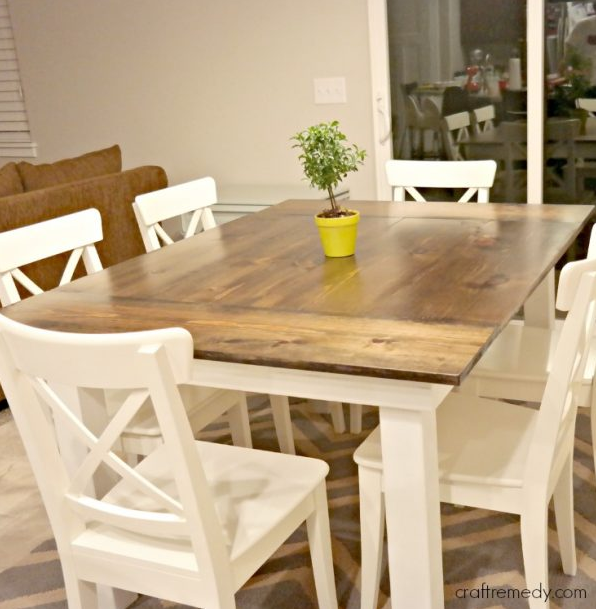 Farmhouse Table Plans 12