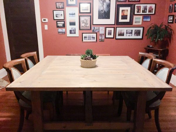 Farmhouse Table Plans 7