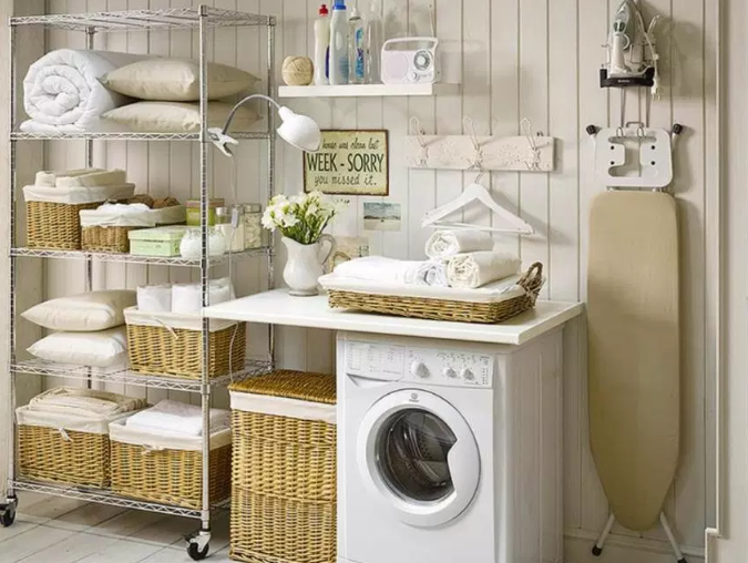 Vintage Laundry Room Design