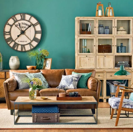 Wood is king - living rooms color ideas