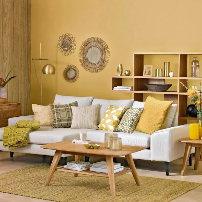 Yellow fun - living rooms color ideas