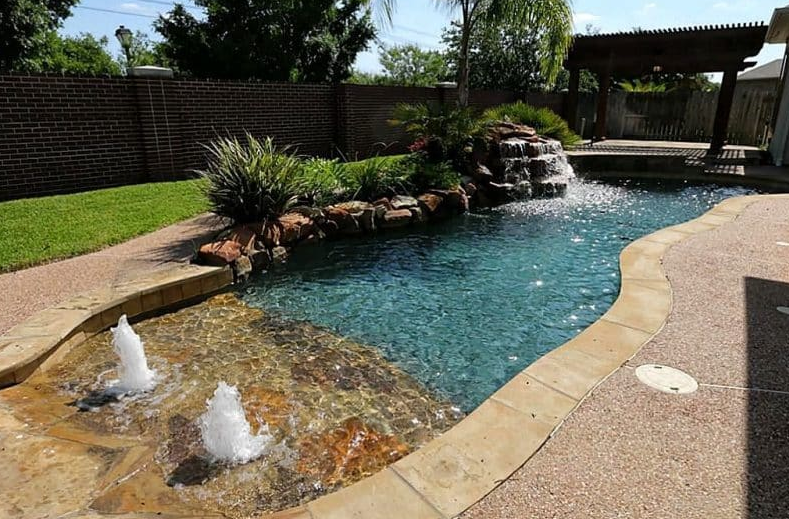 Small Inground Pool Ideas - Similar to the beach