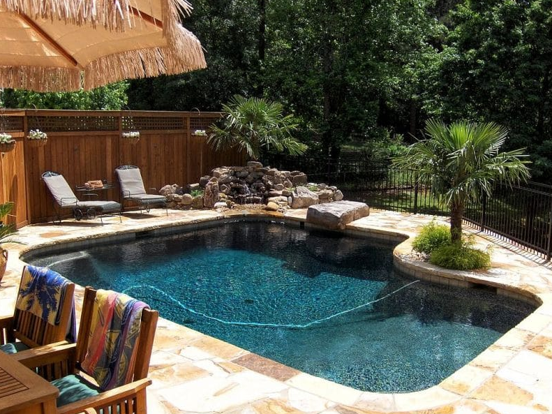 Small Inground Pool Ideas - beautiful and simple