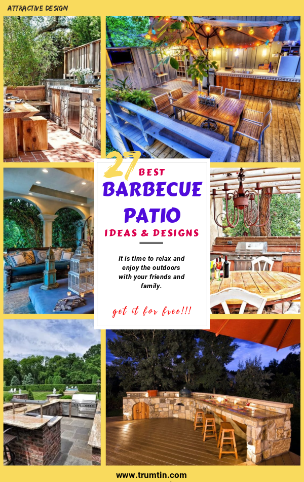 Barbecue Patio Ideas and Designs