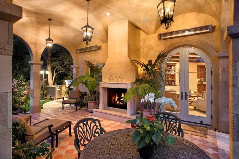 Italian Styled Patio